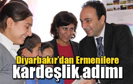 Diyarbakır'dan Ermenilere kardeşlik adımı