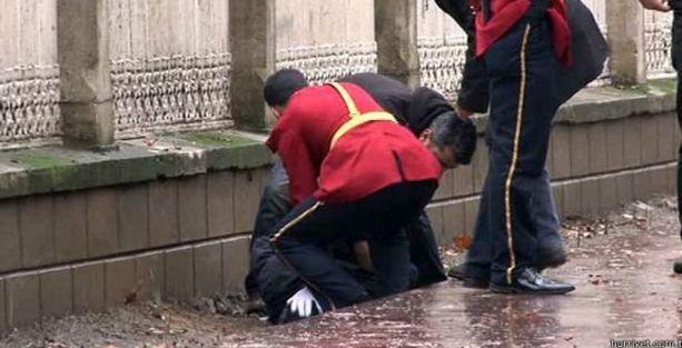 Dolmabahçe Sarayı'na silahlı saldırı girişimi