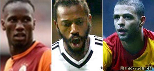 Drogba'dan Beşiktaş'a, Fernandes'ten Melo'ya gönderme