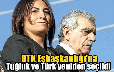 DTK Eşbaşkanlığı'na Tuğluk ve Türk yeniden seçildi