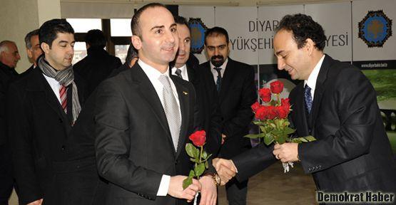Dünya Süryani yöneticilerinden Baydemir'e ziyaret