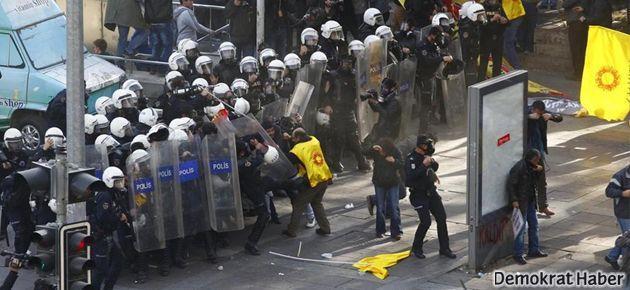 Eğitim-Sen'e saldırı protesto edildi