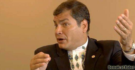 Ekvador Başkanı meydan okudu