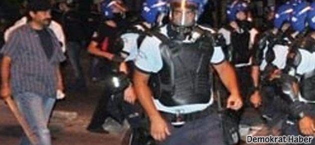 Eli sopalı 'polisler' bu kez Antalya