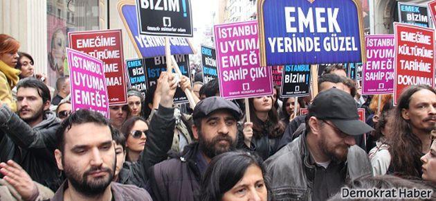'Emek' için Taksim yine ayaktaydı