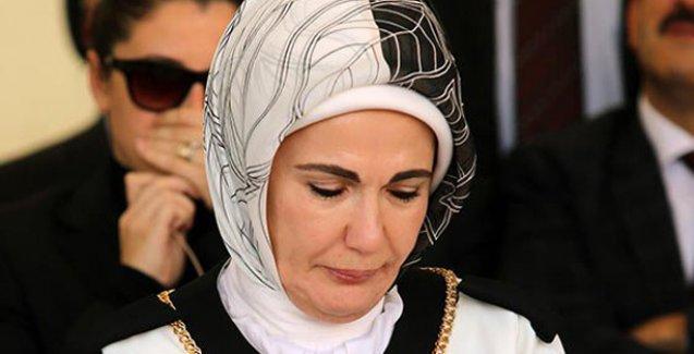 Emine Erdoğan'ın 50 bin TL tazminat talebi reddedildi