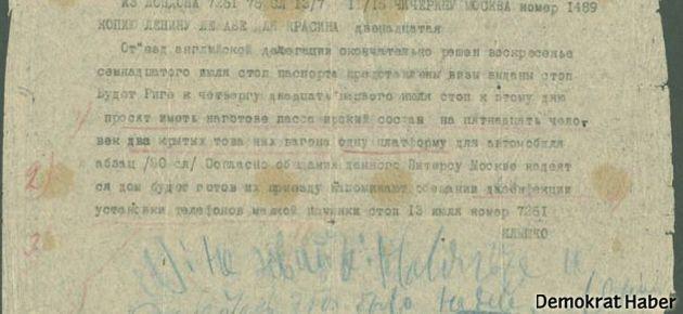 En pahalı el yazısı Lenin'in