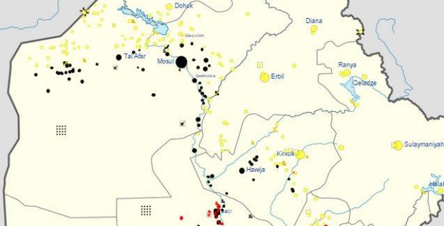 Erbil'e 45 kilometre uzaklıkta IŞİD saldırısı