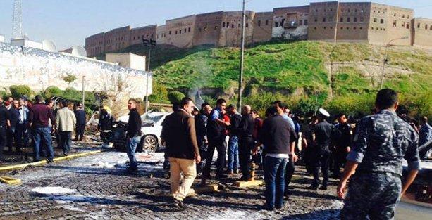 Erbil valiliğine intihar saldırısı