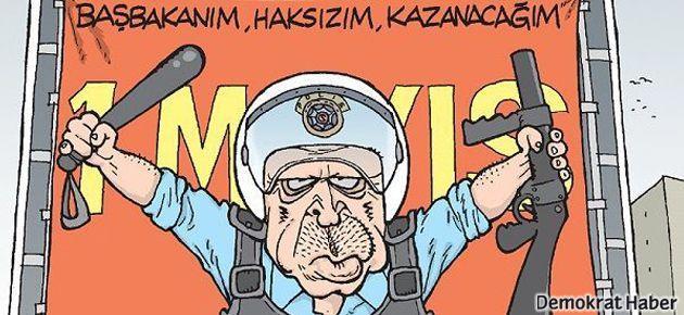 Erdoğan 1 Mayıs afişinde: Haksızım, kazanacağım