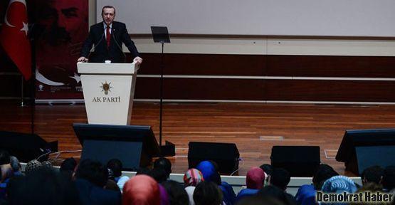 Erdoğan 'AK Parti'nin gençleri' ve 'diğerleri' diye ayırdı