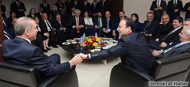 Erdoğan Diyarbakır Belediyesi'ni ziyaret etti