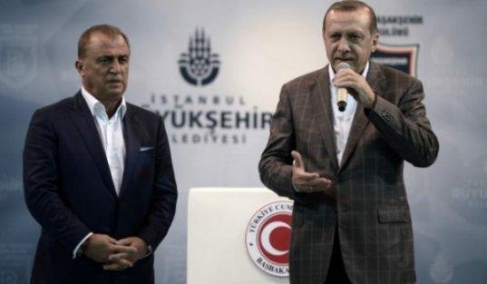 Erdoğan: 'Fatih Terim ne yapsın çıkıp kendisi mi oynasın?'