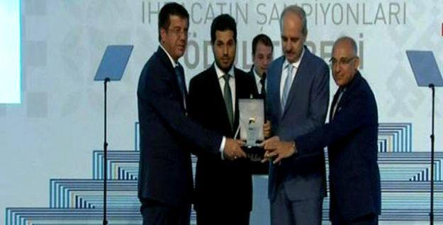 Erdoğan'ın da katıldığı TİM'den Rıza Sarraf'a ihracat ödülü