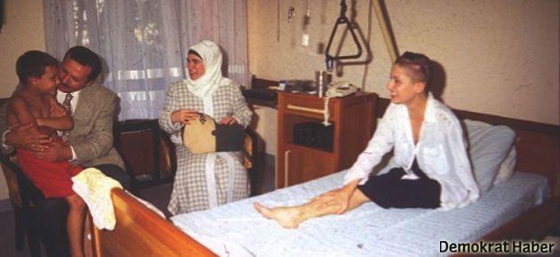 Erdoğan, Şafak Pavey'i ziyaret etmiş
