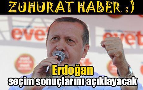 Erdoğan seçim sonuçlarını açıklayacak