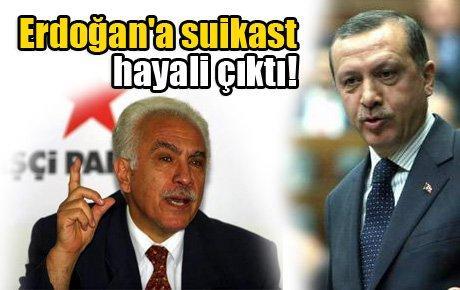 Erdoğan'a suikast hayali çıktı