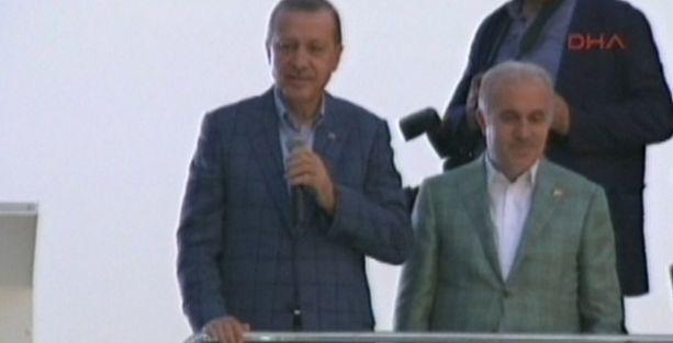 Erdoğan'dan 'ön balkon' konuşması