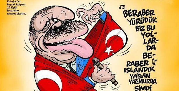 Erdoğan'ın 'bayrak açılımı' LeMan'ın kapağında