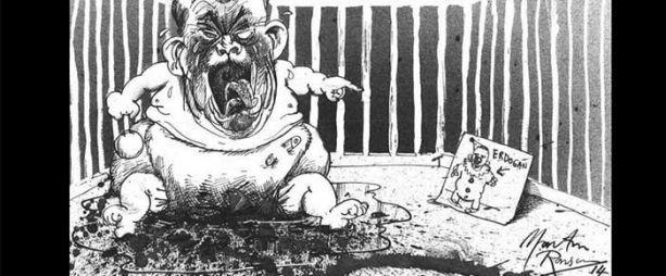 Erdoğan'ın dava ettiği karikatürist için The Guardian'dan kampanya