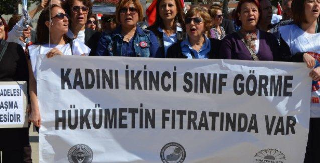 'Erdoğan'ın fıtrat söylemi kadına şiddeti tahrik ediyor'