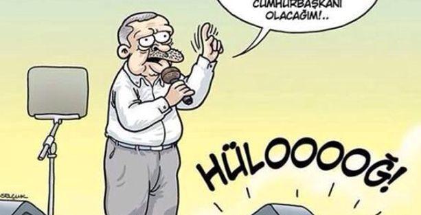 Erdoğan'ın seçim çalışmaları Penguen'de