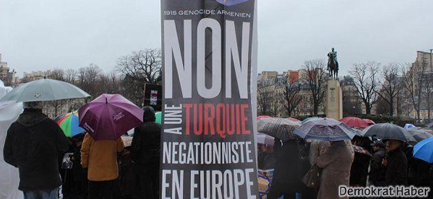 Ermenilerden, Hollande'a Türkiye protestosu