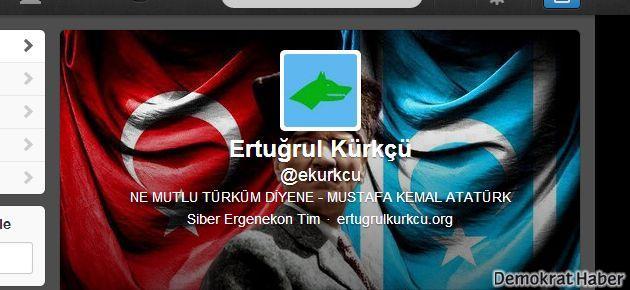 Ertuğrul Kürkçü twitter hesabını ırkçılara kaptırdı
