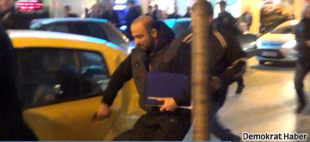 Ertuğrul Kürkçü'nün içinde bulunduğu araca saldırı