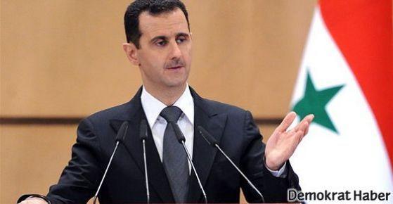 'Esad ateşkes önerecek'