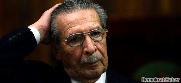 Eski diktatöre soykırım suçundan 80 yıl hapis