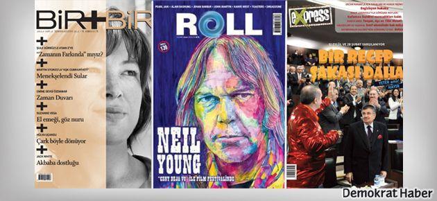 Express, Bir+Bir ve Roll dergileri sizi bekliyor