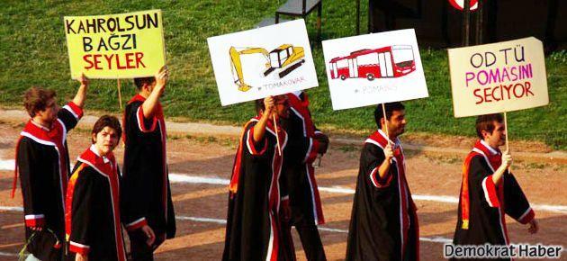 Eyleme katılan öğrenciye burs ve kredi yok