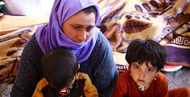 'Ezidi halkı Saddam döneminden beri kıyım yaşıyor'