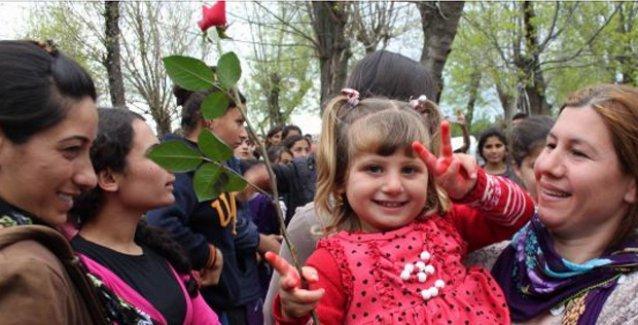 Ezidiler kutsal bayramları 'Çarşema Sor'u buruk kutladı