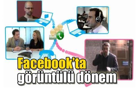Facebook'ta görüntülü dönem