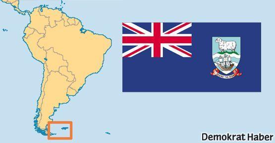 Falkland'da İngiliz yönetimine 3 'Hayır'