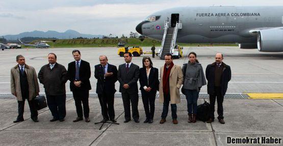 FARC ve Kolombiya Oslo'da görüşmelere başladı