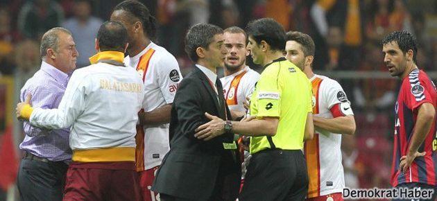 Fatih Terim'e 9 maç ceza