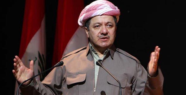 Barzani AKP'yi övdü, PKK'yi suçladı; Davutoğlu gibi 'silah bırakın' çağrısı yaptı