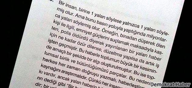 FEM Yayınları Ahmet Atakan sorusu için özür diledi