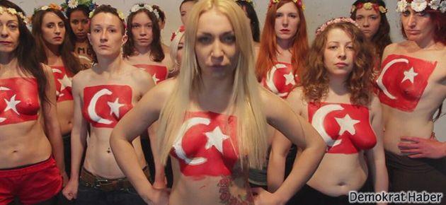 Femen, Gezi direnişçilerine desteğe gelecek
