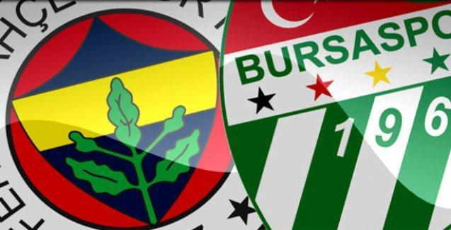 Fenerbahçe-Bursaspor maçı da ertelendi