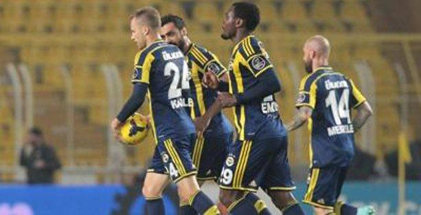 Fenerbahçe, Çaykur Rizespor'u 2-1 yendi