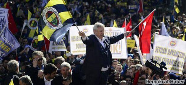 Fenerbahçe taraftarının 'adalet' yürüyüşü