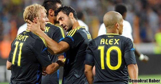 Fenerbahçe Vaslui'yi 4 golle geçti