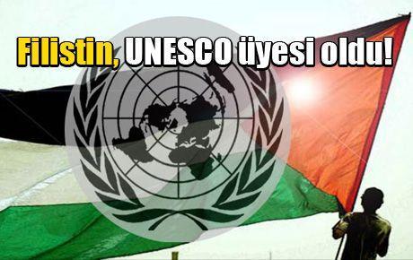 Filistin, UNESCO üyesi oldu!