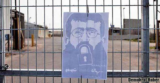 Filistinli açlık grevcileri hastaneye kaldırıldı