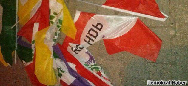Foça'da HDP'lilere saldırı ve linç girişimi