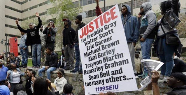 Fredie Gray'in ölümünden sorumlu Baltimore polisi cinayetle yargılanacak